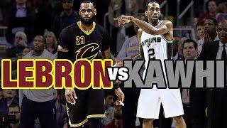 Repeat youtube video Kawhi Leonard & LeBron James Battle in Cleveland | 01.21.17