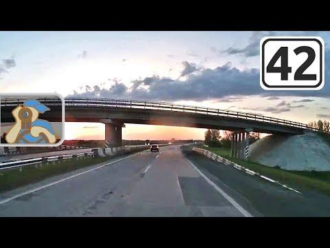 Трасса Новокузнецк - Ленинск-Кузнецкий. [ ✕ Карагайла - ✕ Полысаево ]