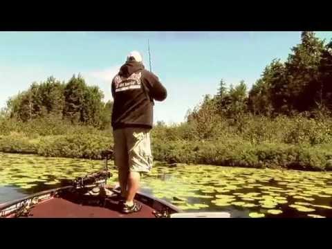 Catching Largemouth bass on windy days