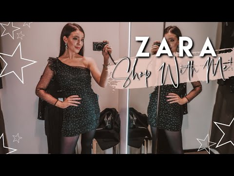 ZARA Shop With Me For Winter 2019 | Festive / Party Season Try On & Haul