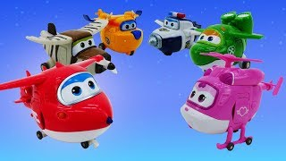 Vidéo pour enfants de jouets Super Wings: les couleurs en français