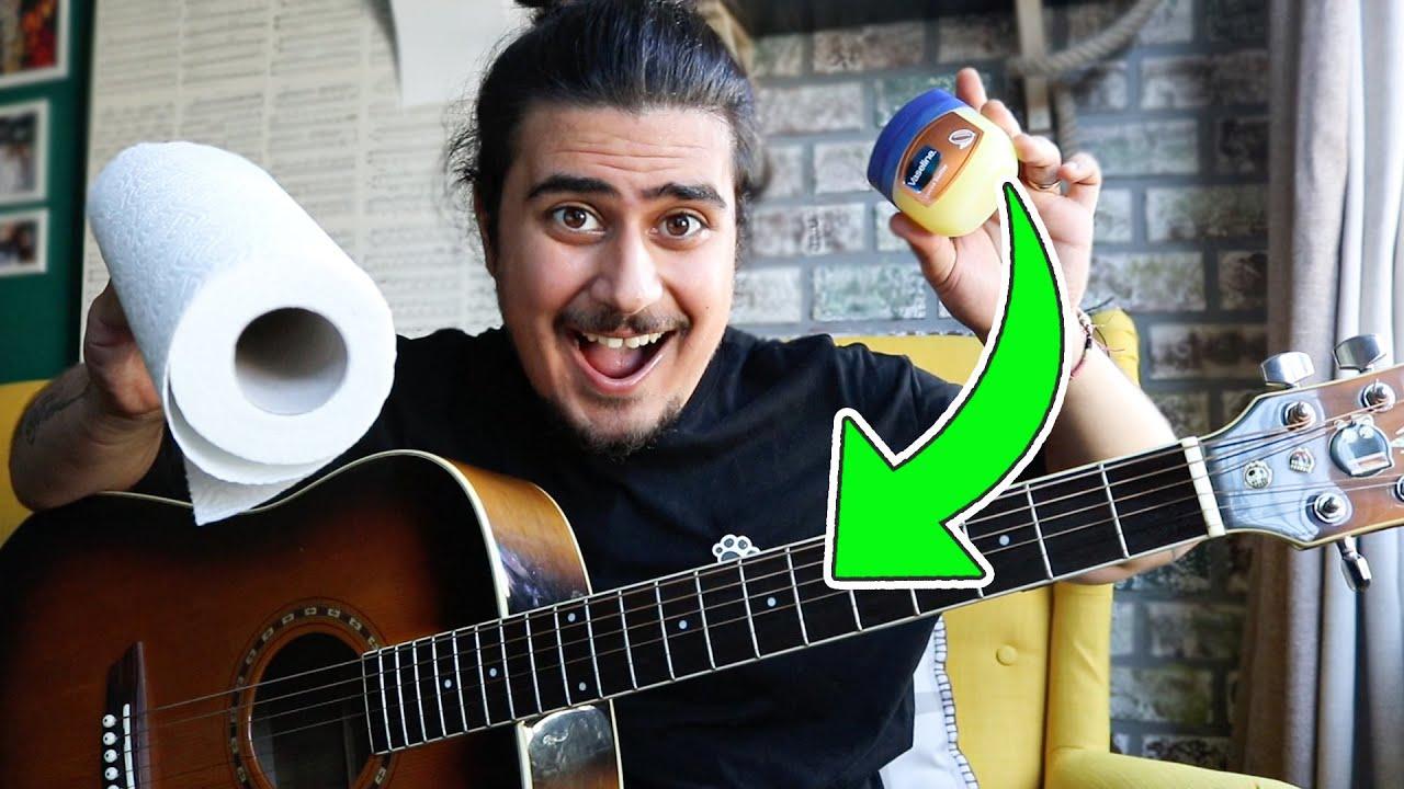 Gitar Telleri Nasıl Temizlenir ? Akustik Gitar Teli Pas Temizleme