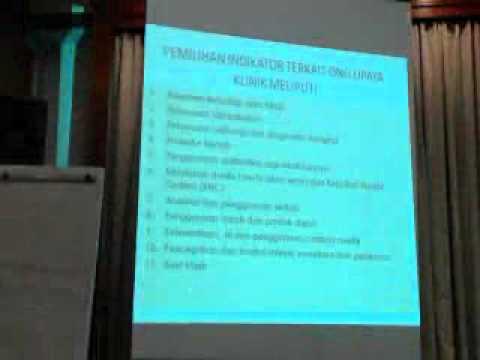 Workshop Instrumen Akreditasi Rumah Sakit 2012 (5) - dr. Mgs. Johan T Saleh