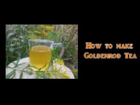 How to Make Goldenrod Tea
