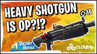 Hysteria | Fortnite Battle Royale - Heavy Shotgun is OP!?!?