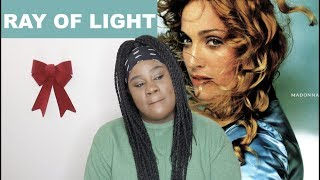 Madonna - Ray of Light Album |REACTION|