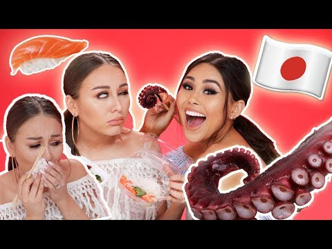 Trying Japanese Food | Yes Hipolito