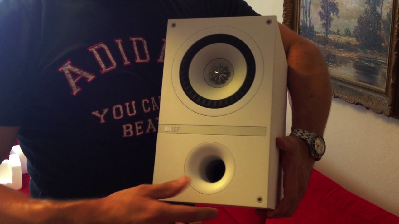 KEF Q100, Q200c, Q400b (AV100 Speaker Package) UNBOXING