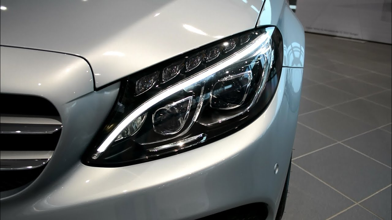 mercedes benz c klasse frontscheinwerfer headlight led ForMercedes Benz Intelligent Light System C Class