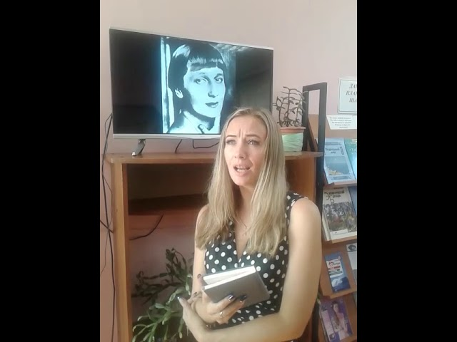 Изображение предпросмотра прочтения – НадеждаКондратьева читает произведение «Сжала руки под темной вуалью» А.А.Ахматовой