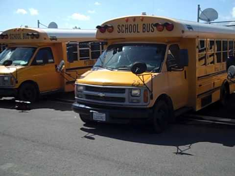 33f7df14cd GovDeals  2001 Chevrolet Express G3500 25 Passenger School B - YouTube