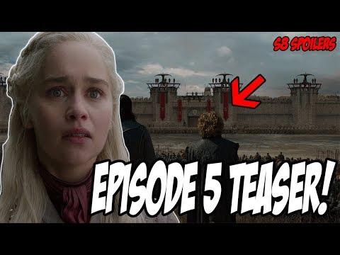 Episode 5 TEASER! Game Of Thrones Season 8 (Spoilers)
