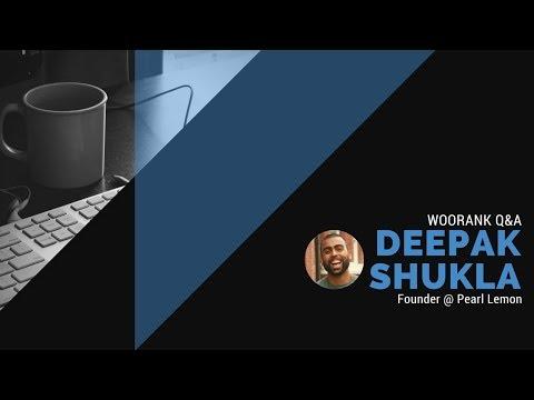 WooRank Q&A with Deepak Shukla