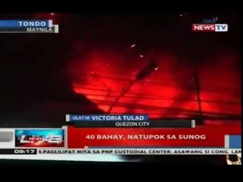 NTVL: 40 bahay sa Quezon City, natupok sa sunog