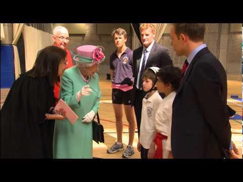 The Queen visits Westminster School