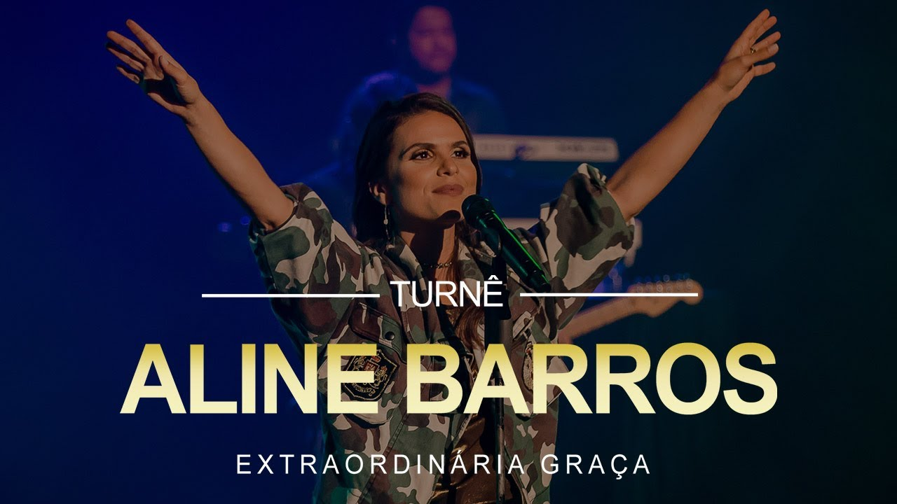 Aline Barros Depois Da Cruz Ao Vivo Teatro Riachuelo Natal