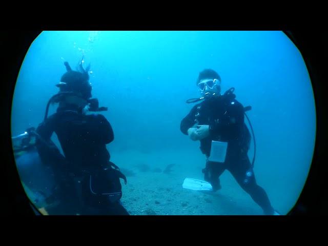 潜楽屋的講習動画『器材脱着を水中でやってみた』