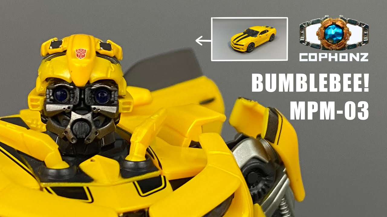 Masterpiece MPM-03 Bumblebee No Words Review By Cophonz