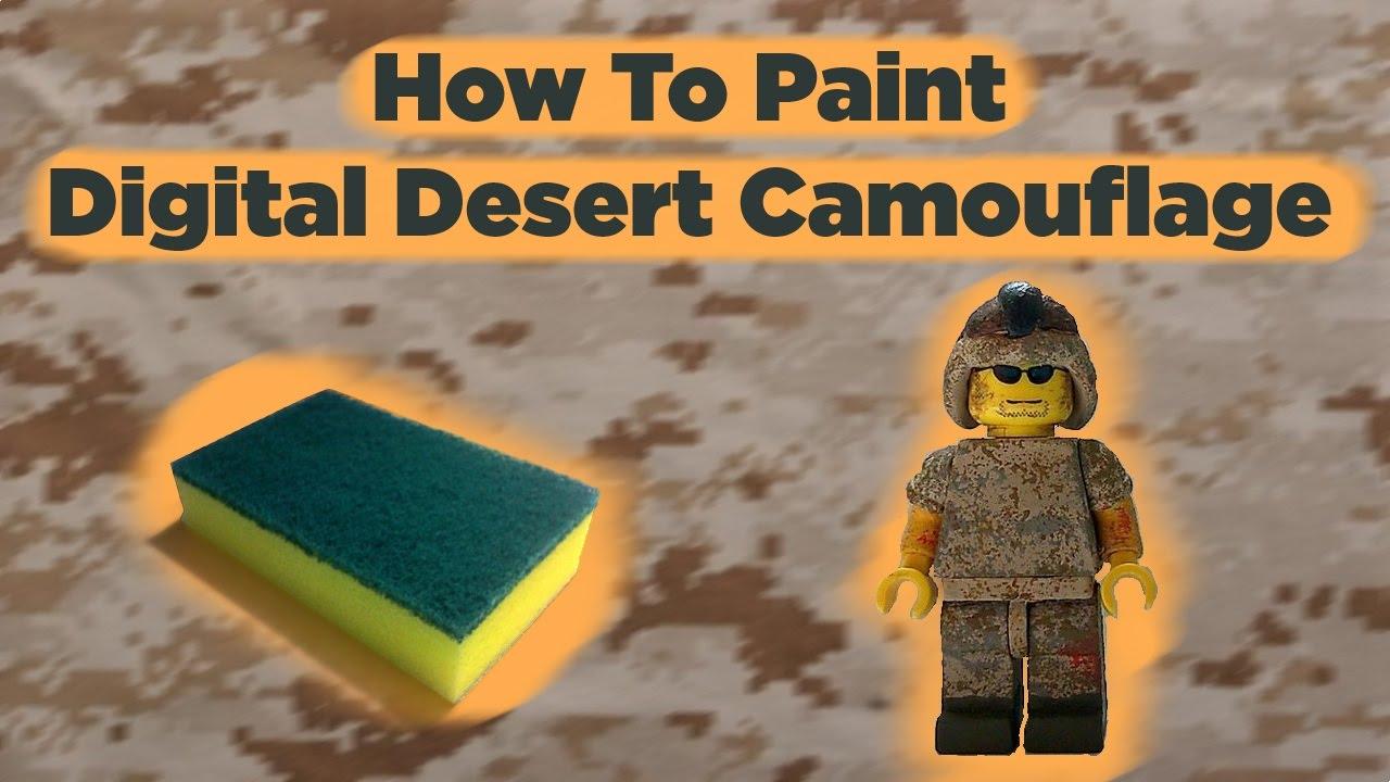 Digital Camo Paint Job