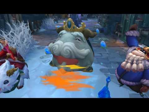 видео: league of legends: Снегопаденная сказка | трейлер образов