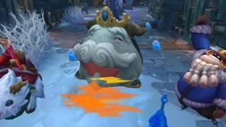 League of Legends  Снегопаденная сказка | трейлер образов