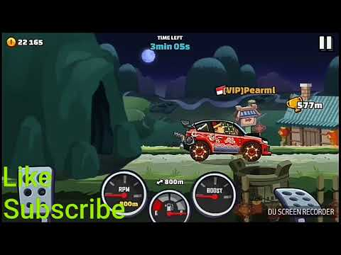 New Chinese New Year and New Paint on Rally Car - Hill Climb Racing 2
