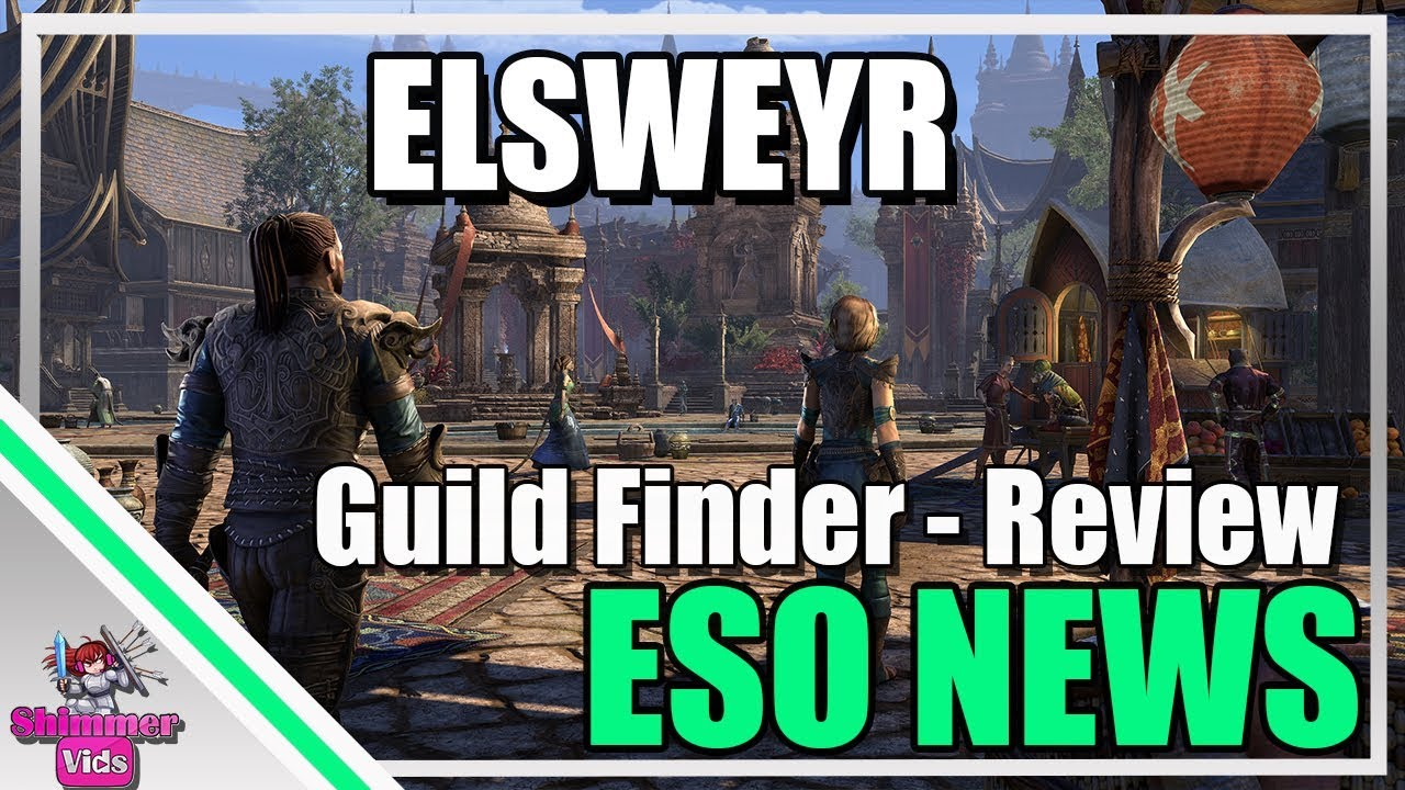 ESO NEWS: Elsweyr Guild Finder Review! How Listing and Searching Works!