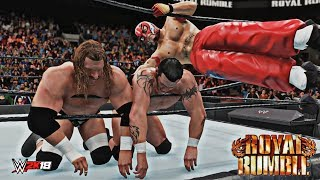 Rey Mysterio Wins the Royal Rumble 2006! (Double 619 WWE 2K18)
