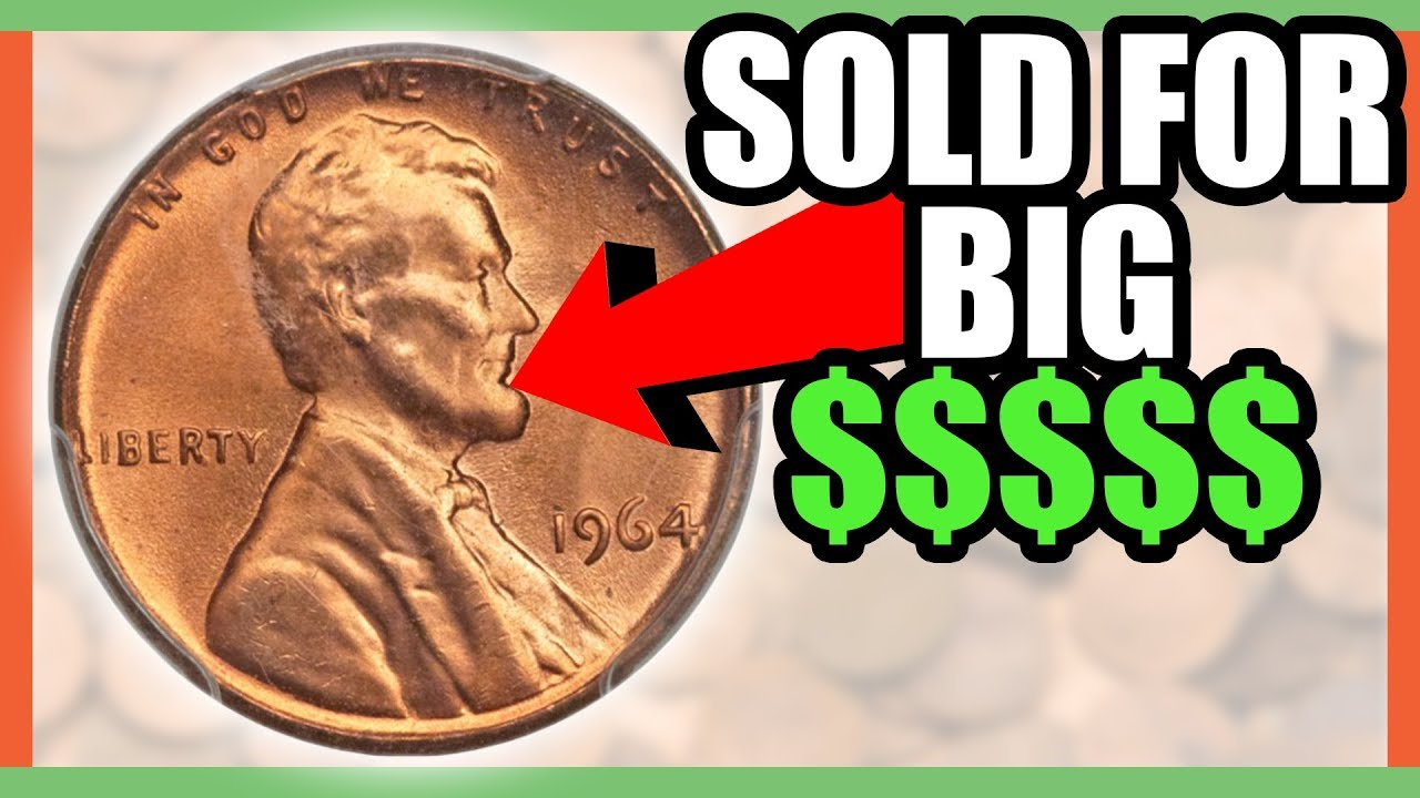 RARE AND VALUABLE PENNIES TO LOOK FOR!! 1964 PENNIES WORTH MONEY!!