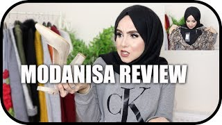 MODANISA MODEST FASHION REVIEW & TRY-ON HAUL! | Amina Chebbi