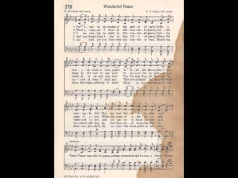 05 SDCF 11 18 1979 pm congregational hymn 378 Wonderful Peace