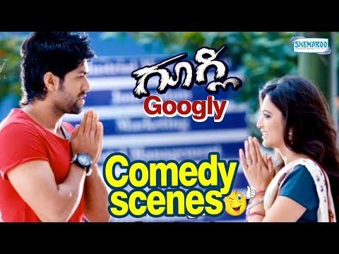 Yash Thanking Kruthi | Googly Comedy Scenes | Googly Kannada Movie Scenes  | Yash | Kruthi Karabanda
