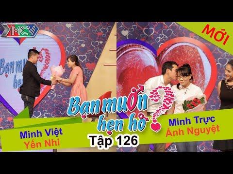BẠN MUỐN HẸN HÒ - Tập 126   Minh Việt - Yến Nhi   Minh Trực - Ánh Nguyệt   21/12/2015