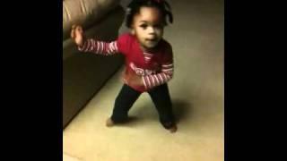 Imani's tap dance routine
