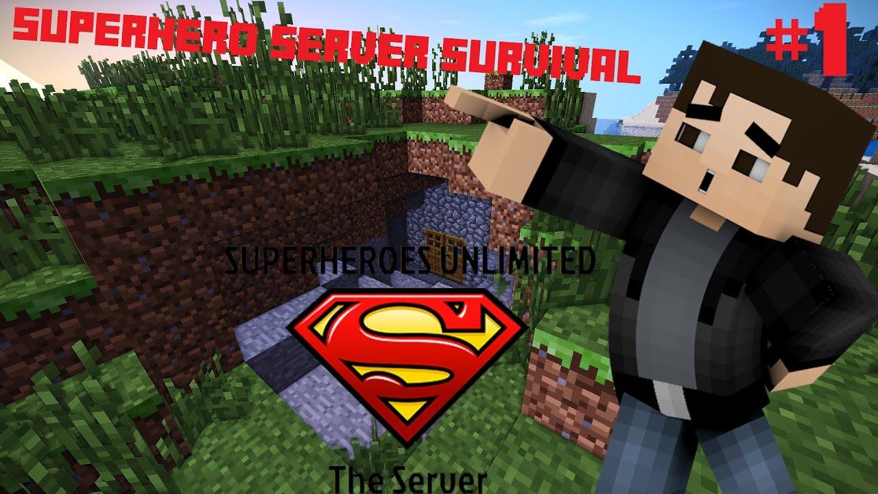 сервера майнкрафт с модом на супергероев