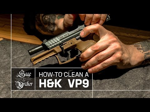 HK VP9 Handgun // How to Clean and Disassemble