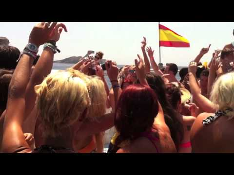Ibiza Live Boat Party 3rd July 2012