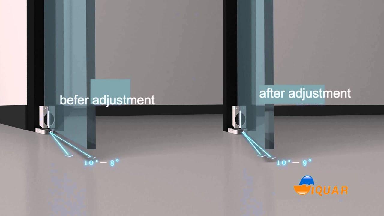 Floor Door Closer Installation