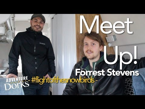01. Meeting up with Forrest the Filmmaker! – #flightofthesnowbirds