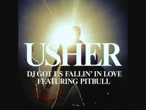 Usher feat. Pitbull - DJ Got Us Falling In Love Again | HQ + Lyrics