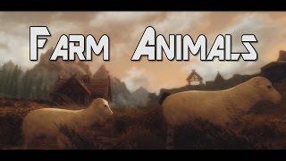 Skyrim Mods #30 - Farm Animals