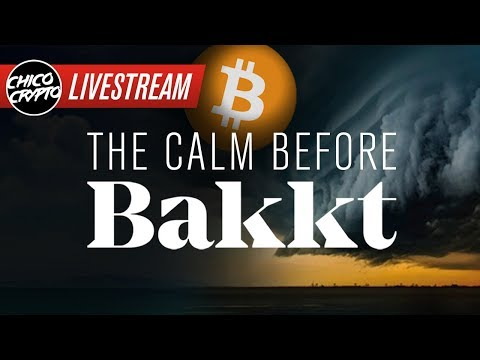 BITCOIN & Bakkt: The Calm Before THE STORM!