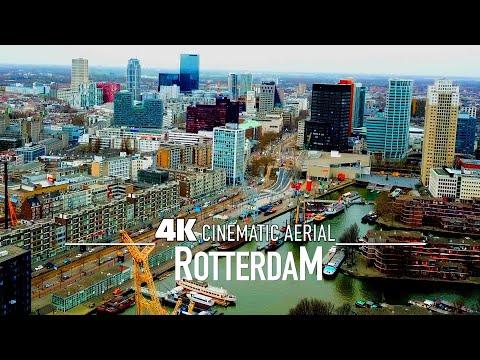 ROTTERDAM Drone 4K 2021 | Eurovision City