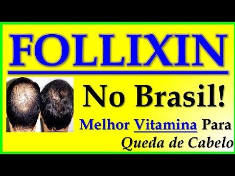 Vitamina Para Queda de Cabelo - Follixin Brasil - Tratamento Para Calvicie - HD