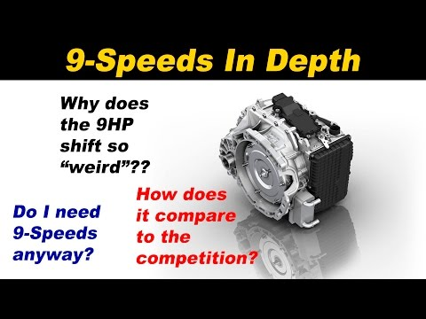 All about the ZF 9HP 9 Speed Automatic transmission - YouTube