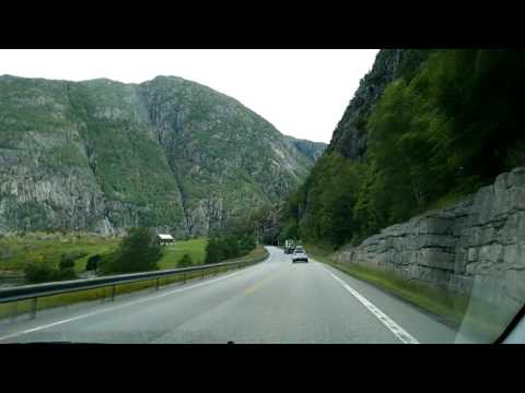 Norway. Road trip from Kyrping to Oslo