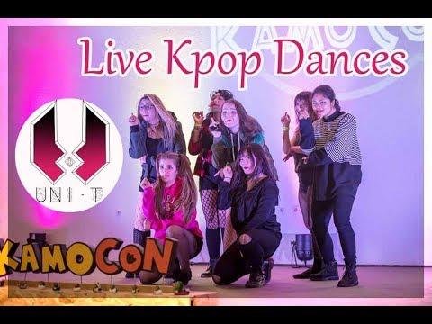 Kpop Live Dances By ★ Uni-T ★ [Kamo Con 2018] Part 1