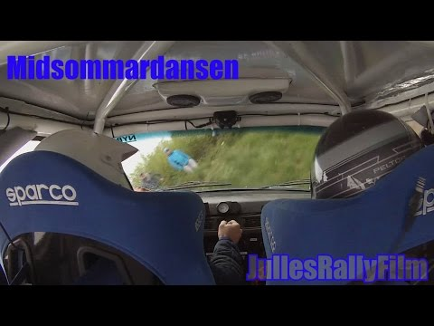 Incar Rally Crash Compilation 2015 - Swedish Incar Rally Crashes / Offs Volvo 240 Gr.H Rally Crashes
