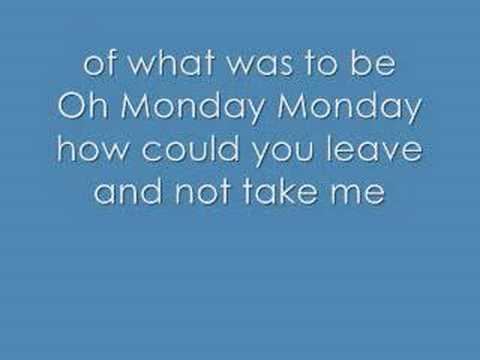Monday Monday By Hear'Say + Lyrics