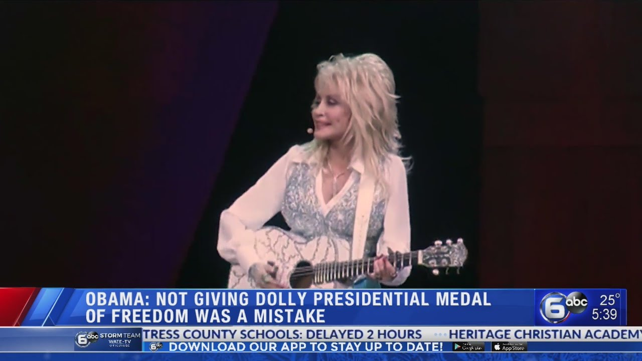 Dolly Parton Says She Turned Down Presidential Medal Of Freedom ...